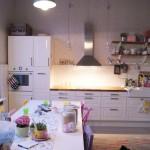 Tyhjentynyt keittiö. Tosin vain hetkeksi.