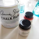 Chalk paint-maalaaminen
