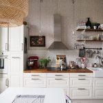 Karsittu ja siistitty keittiö