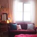 Jouluinen makuuhuone