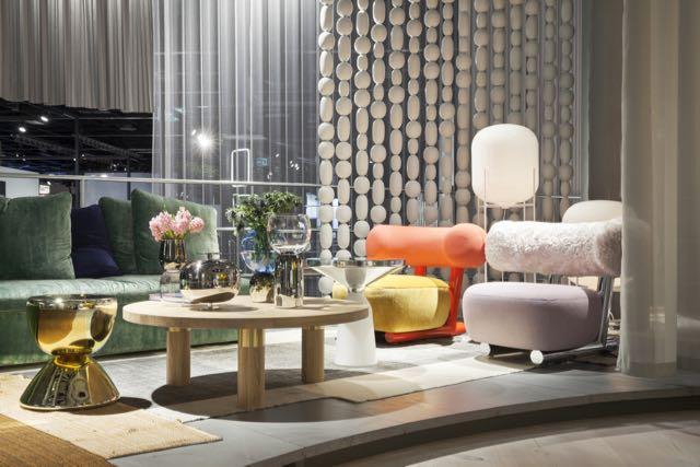 Das Haus 2016 oli Sebastian Herkner suunnittelema kokonaisuus  messuilla. Kokonainainen pyöreä talo