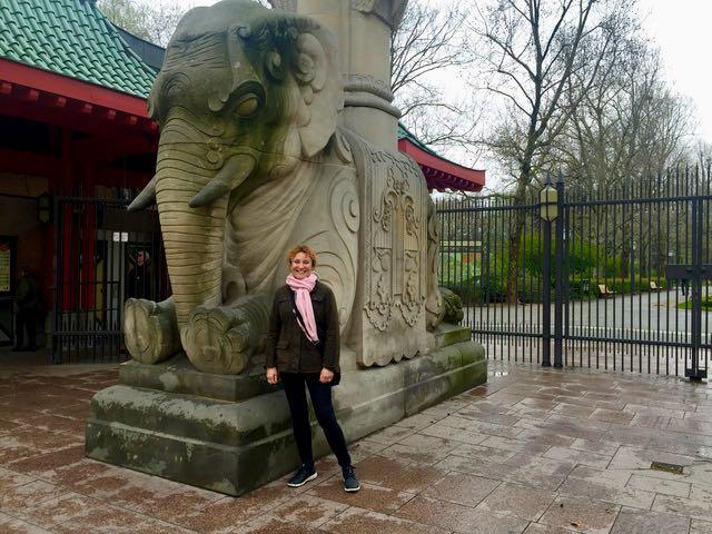 Berliinin eläintarhassa on jopa pandoja! Ehdottoman ihana paikka mennä!