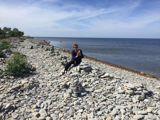 Ninase - RItva kuvaa kiviä