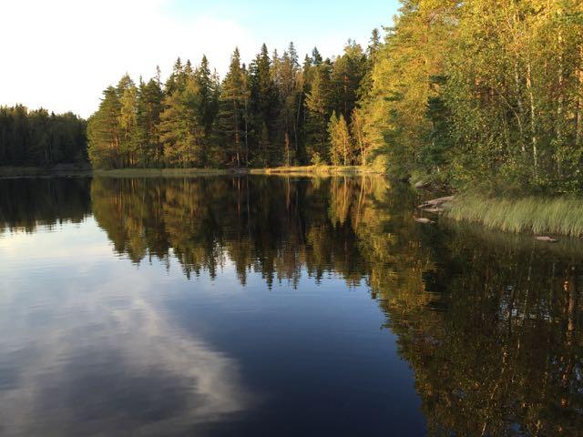 Huikeat on maisemat Espoossa