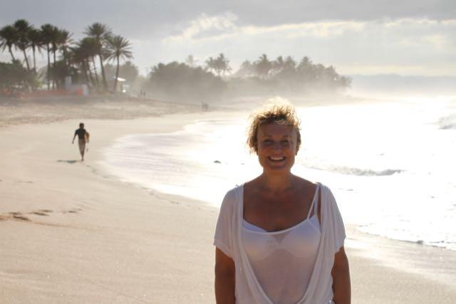 Tämä kuva on otettu Havaijilla monta vuotta sitten, mutta just toi kuvan  fiilis mulla on nyt. Ja vähän päälle ;)