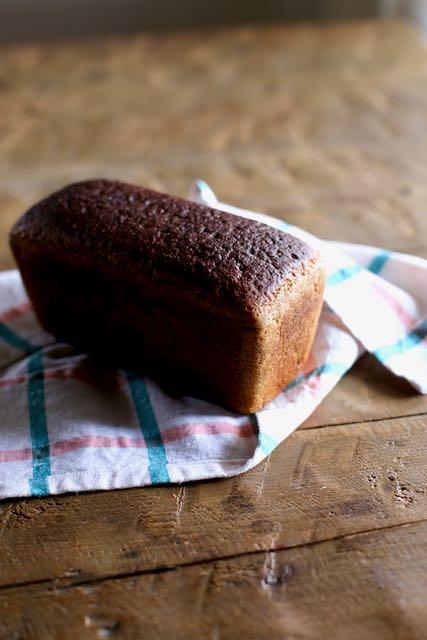 Evelynin leipä ilman kääreitä. Hyvää!