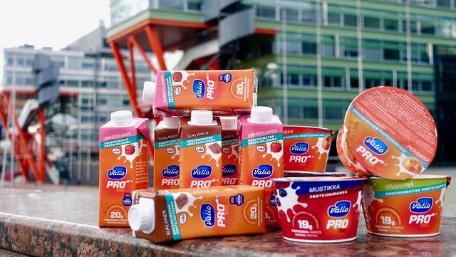 PROfeel tuotteita on sekä sokeroimattomia että tavallisia. Molemmat on hyviä ♥️