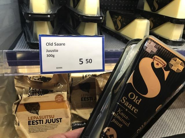 Oletteko maistaneet tätä? Ihana juusto suoraan Saarenmaalta. Luksusta!