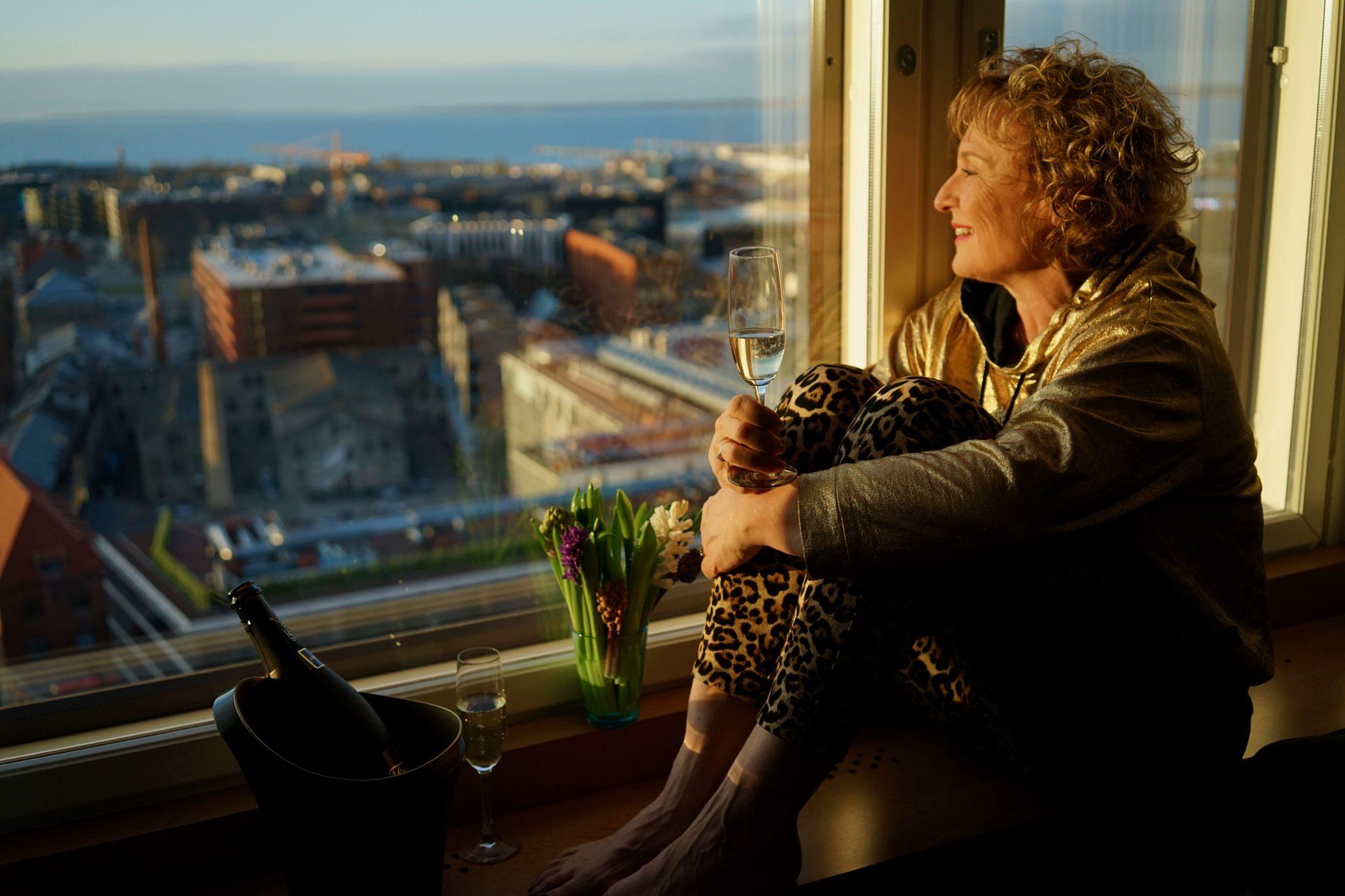 Viru hotelli 18. kerroksen näkymä