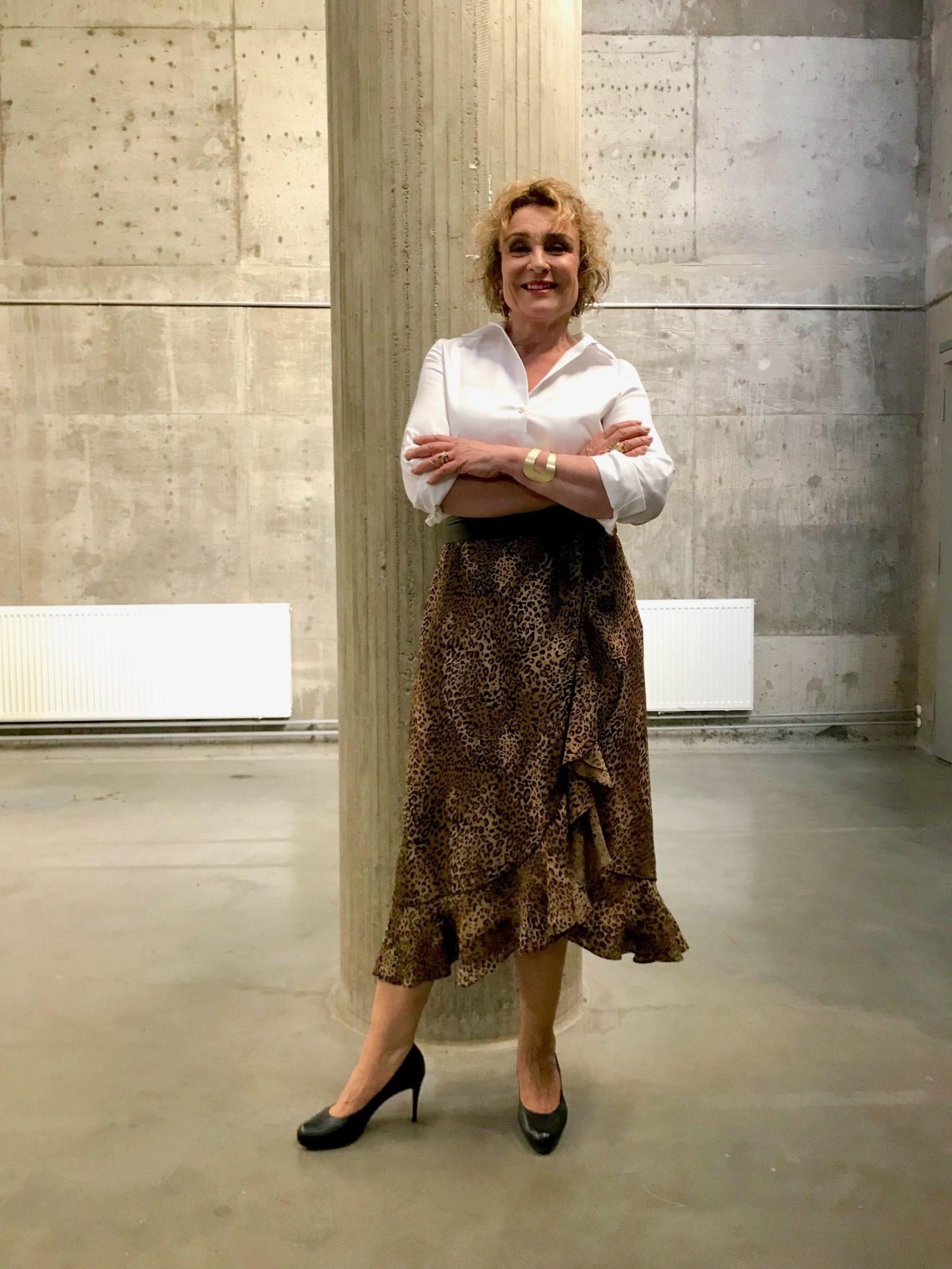 Hame Becksöndergaard, paita Calvin Klein