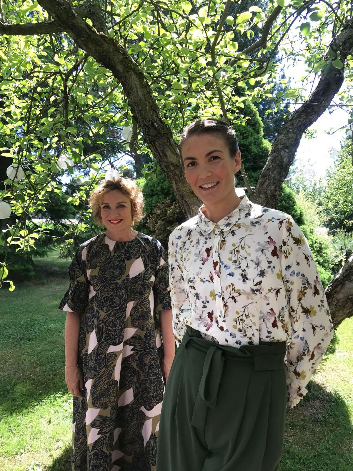 Suomen kaunein koti -tuomarit Hanna ja Sini