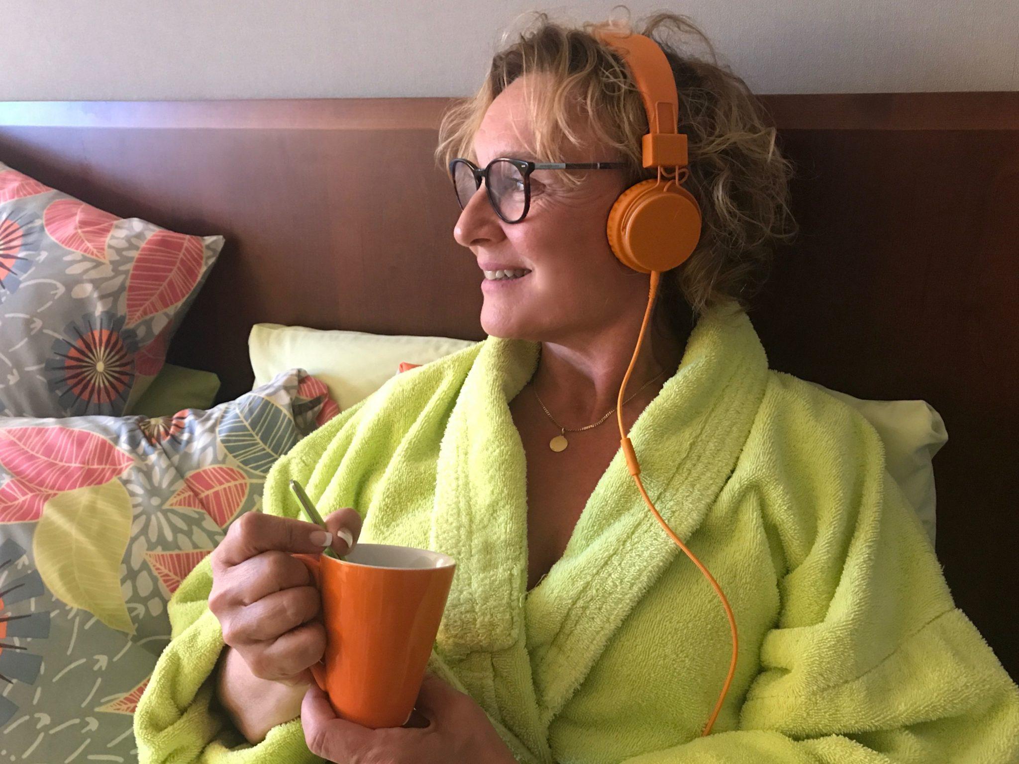 Äänikirjat Storytel -kuulokkeet  blokkaa muut äänet pois