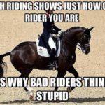 Mistä tunnistaa hyvän ratsastajan