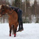 Lapseni näkemys minusta hevosnaisena