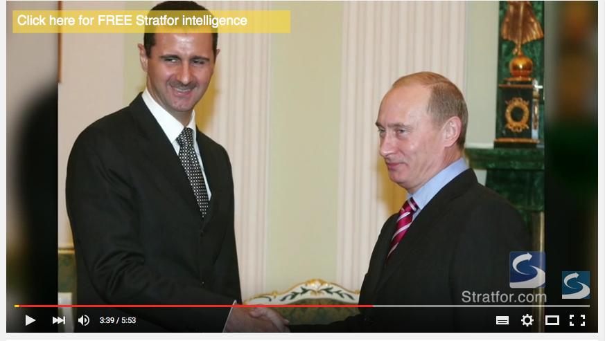 Syyrian presidentti Bašar al-Assad ja Venäjän presidentti Vladimir Putin.