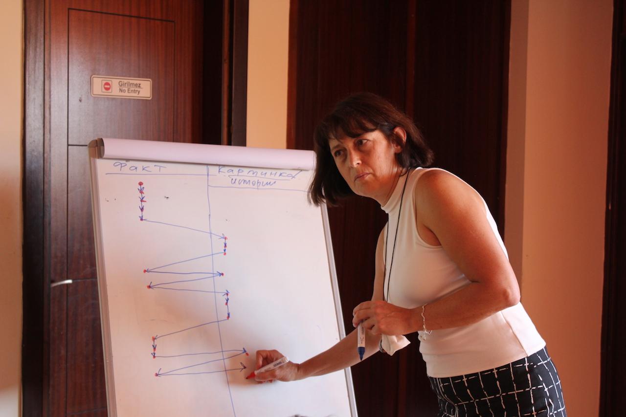 Go Group Median johtaja Margarita Akhlevidiani