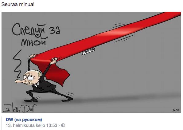 Pilapiirtäjä Sergei Jelkin - Seuraa minua!