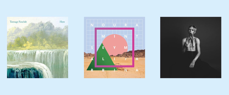 3 levyä juuri nyt: Teenage Fanclub, Noura Mint Seymali, Douglas Dare