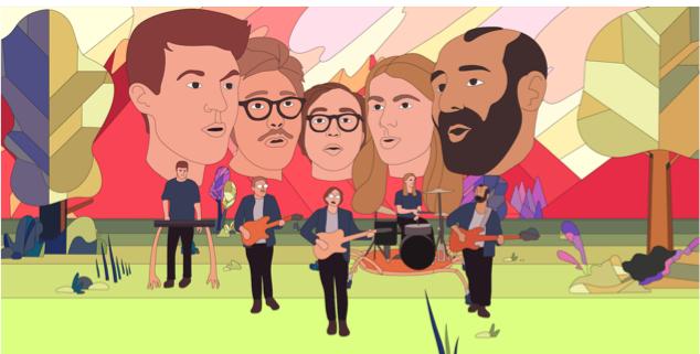 Musiikkivideo on värityskirja