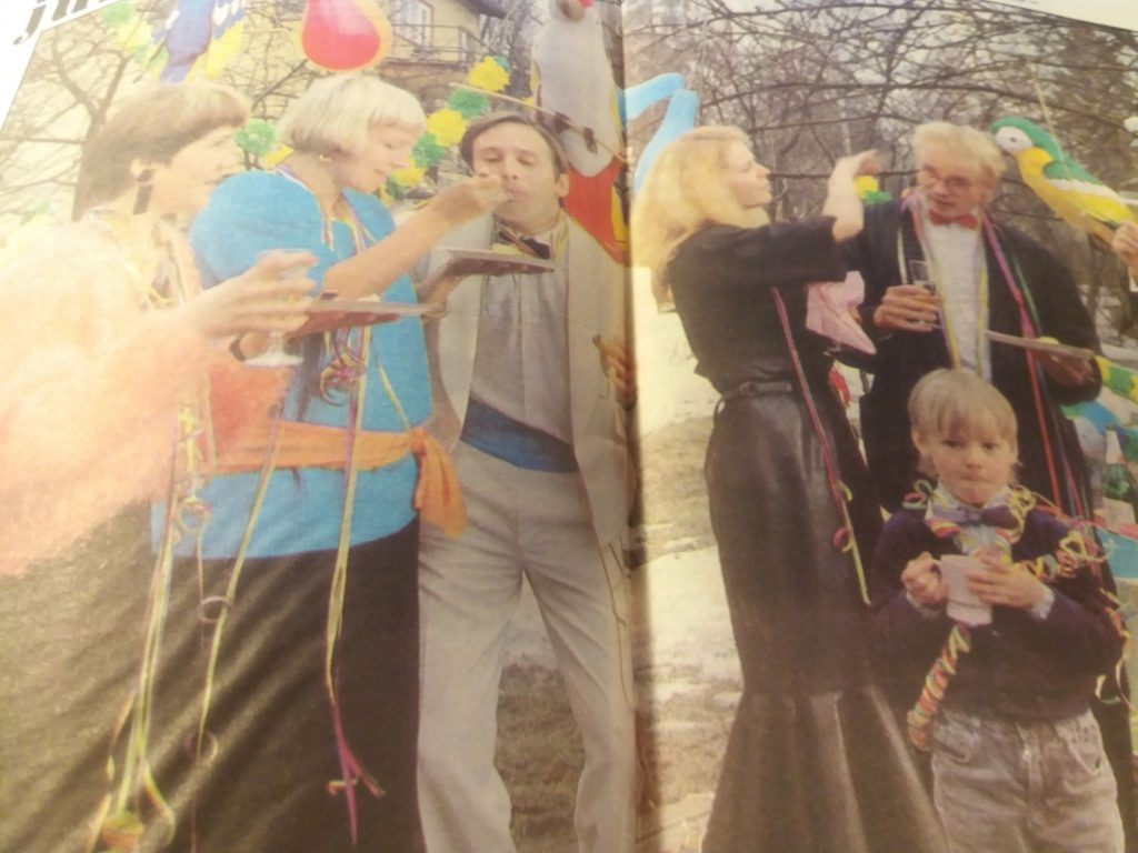 Jasper Pääkkönen viisivuotiaana ensimmäistä kertaa lehtijutussa