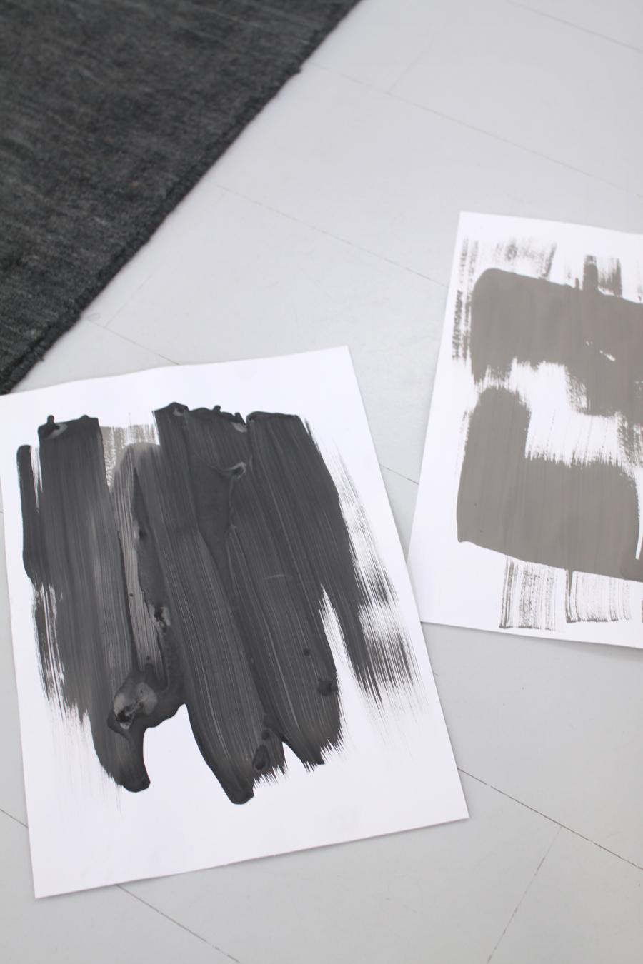kalkkimaali maalauksia