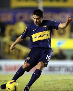 Jalkapallomaestrot #3: Juan Román Riquelme