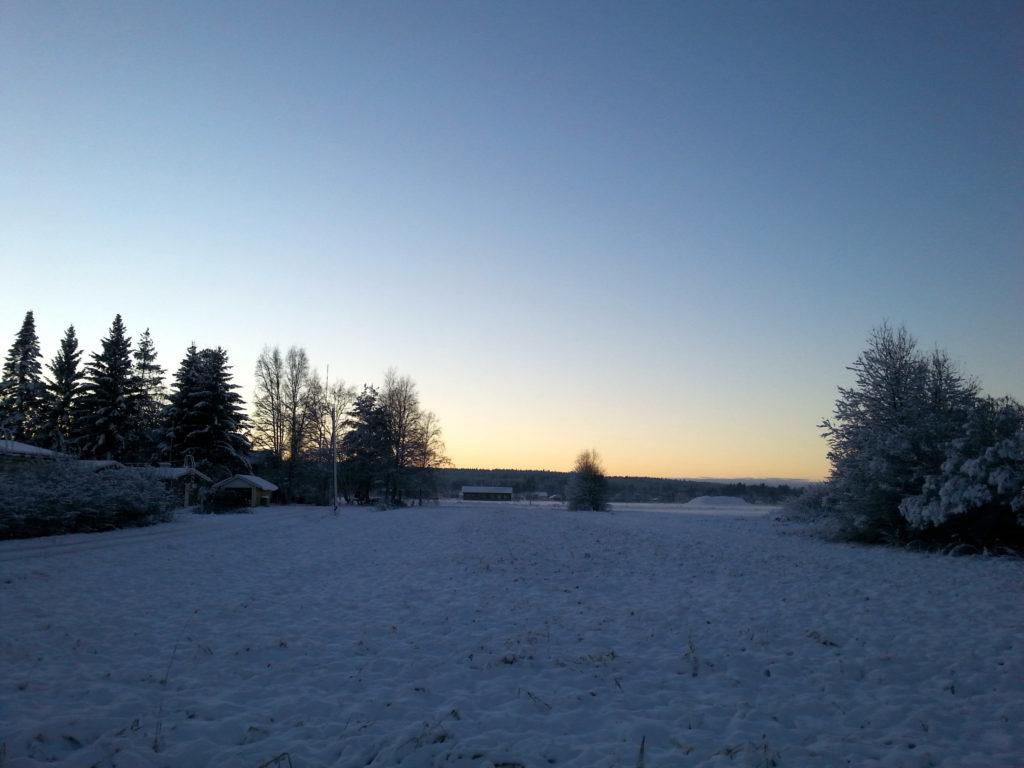 pohjanmaa talvi