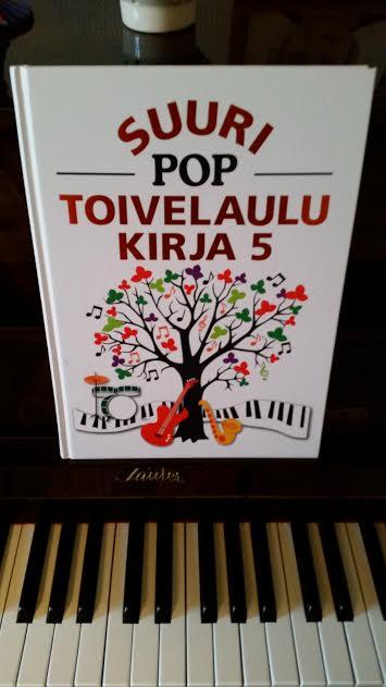 piano-toivelaulukirja