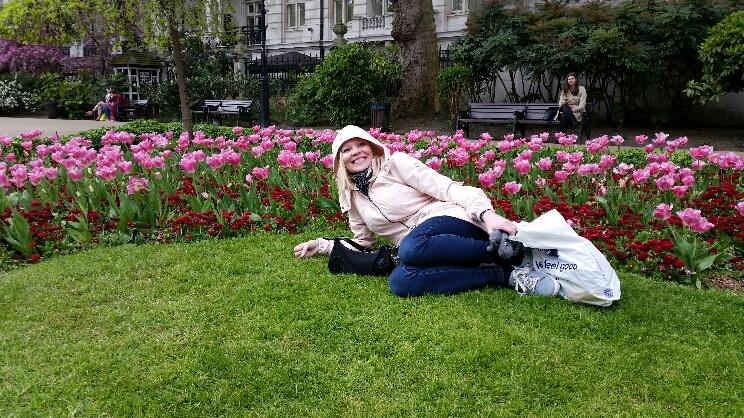 Lontoo - Whitehall Gardens