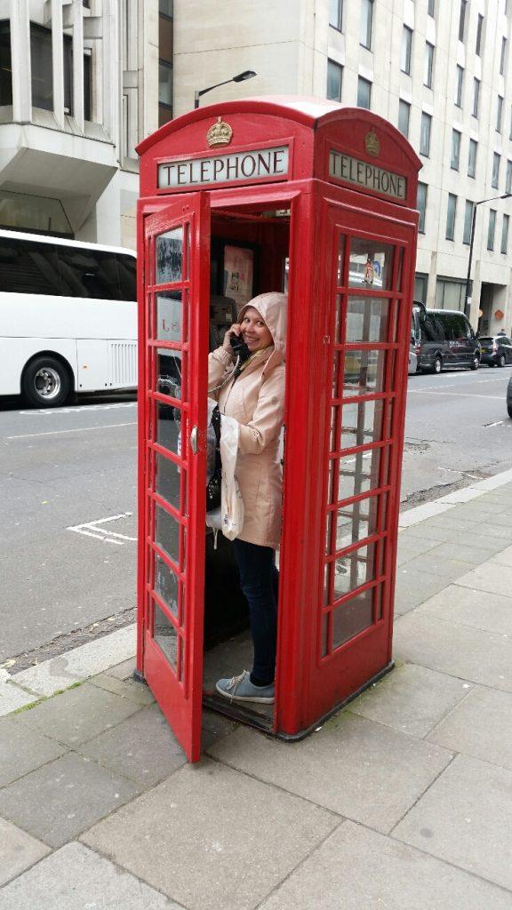 Puhelinkoppi Lontoo