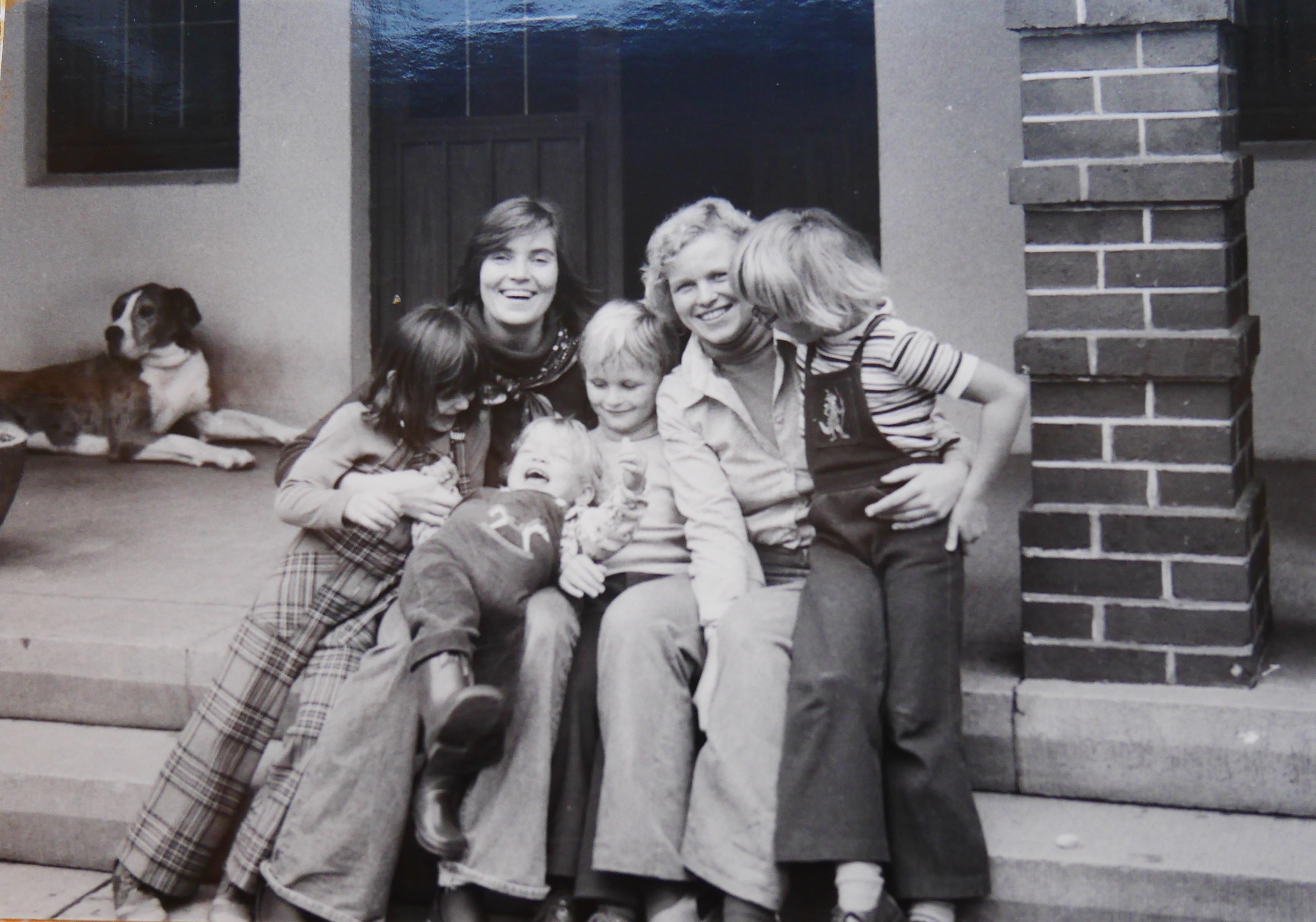 Leena, Gudrun ja lapset