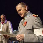 Vaikuttava ja mielenkiintoinen Mannerheim ja saksalainen suudelma -näytelmä