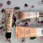 Testissä ihoa sävyttävät-, BB- ja CC -voiteet