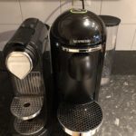 Nespresso Vertuo -kahvikone testauksessa