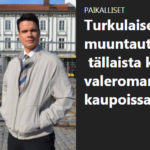 Tutkivaa journalismia turkulaisittain - toimittaja testaa tummaa meikkiä ja kohtaa pitkiä katseita