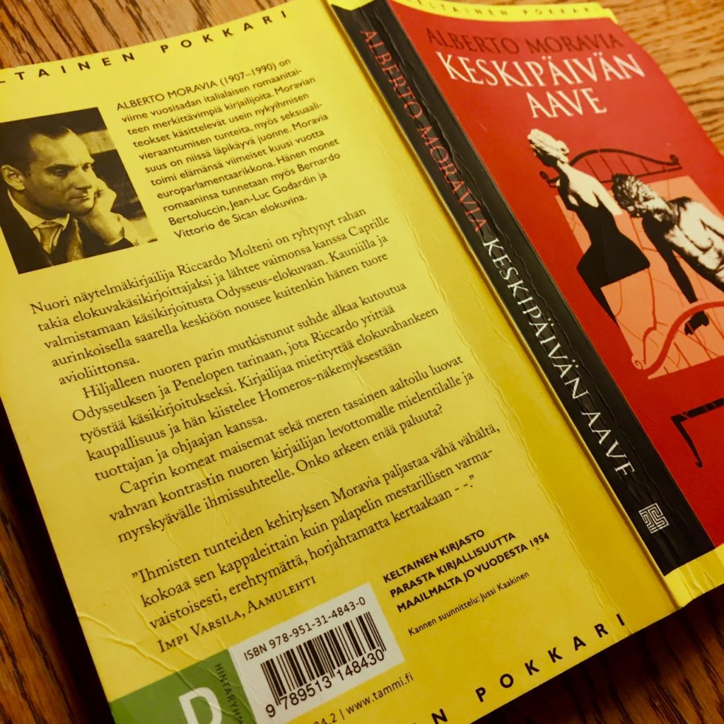 Alberto Moravia: Keskipäivän aave