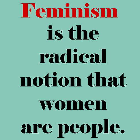 Naiset feminismiä vastustamassa