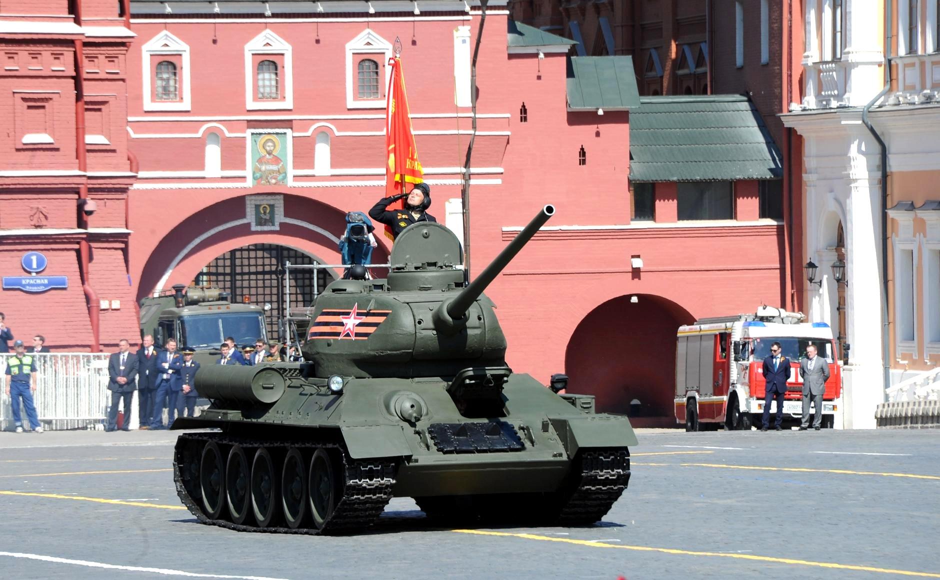 Military parade on Red Square. Photo: kremlin.ru