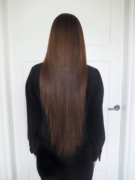 hiusten lopputulos