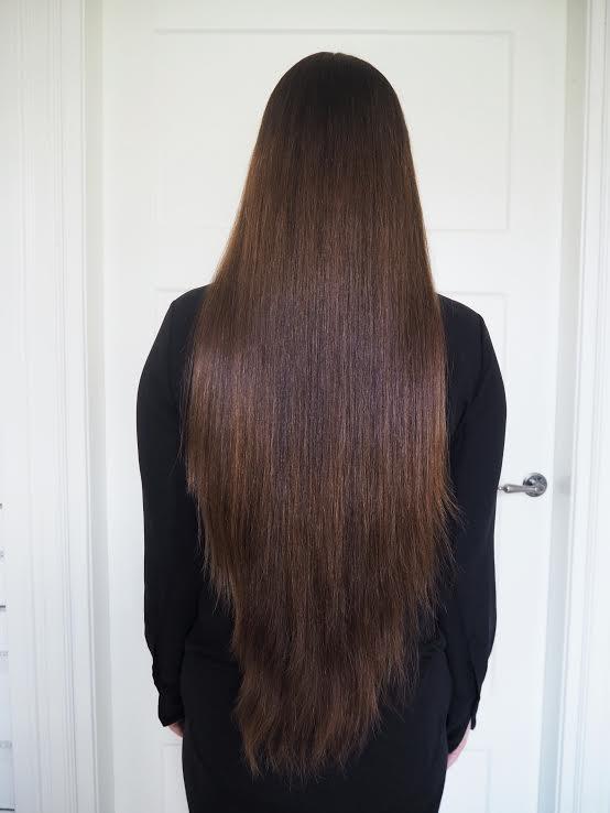 leikkaamattomat hiukset