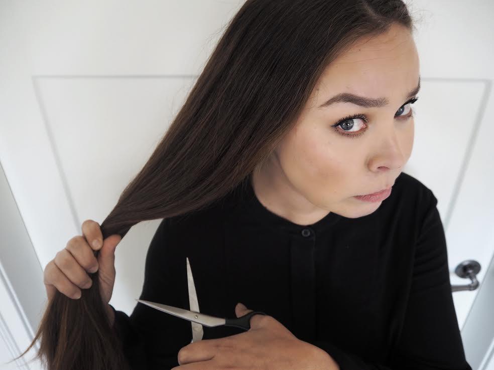diy hiustenleikkuu