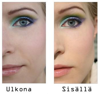 Make Up Store Green & Purple