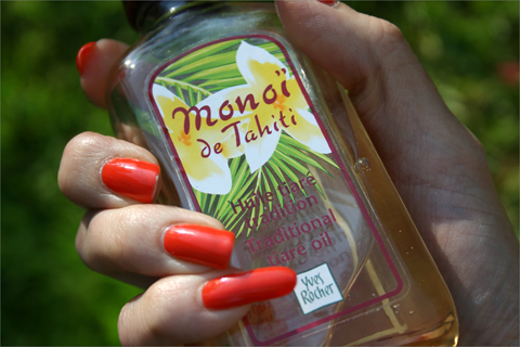 Kesän rakkaustuote: Monoï de Tahiti