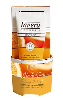 Lahjaideat_Lavera_joulupakkaus