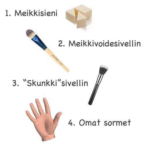 Meikkipohja_valineet