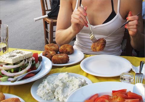 Sannin herkkucorner: Kreikkalainen ruoka