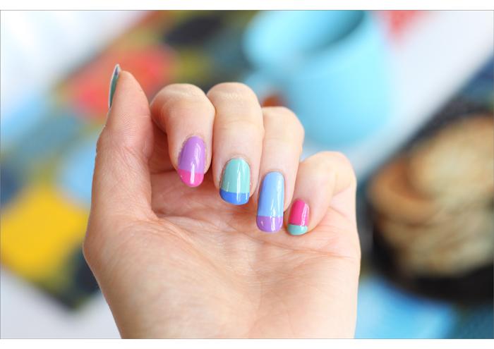 Värikkäät pastelliranskikset a.k.a My Little Pony -kynnet