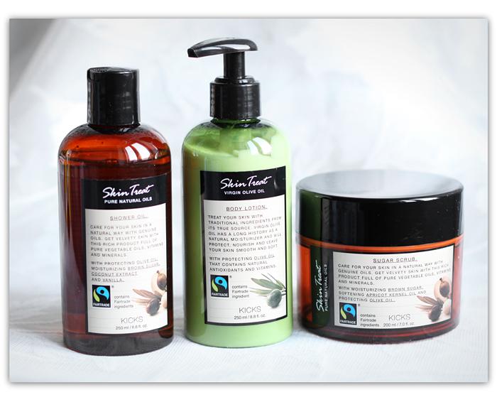 Reilun Kaupan ihonhoitoa: Kicks Skin Treat