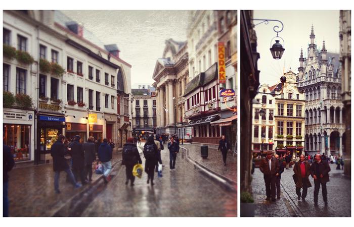 Brysseli kahdessa päivässä, simpukoita ja meikkihöpinää