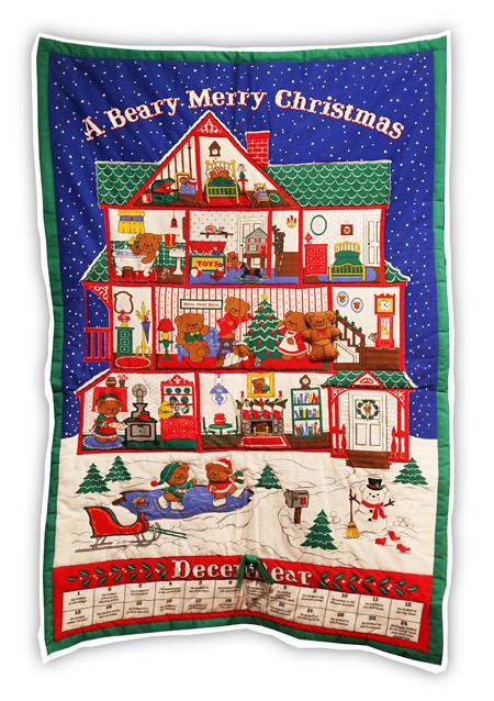 Joulunallekalenteri